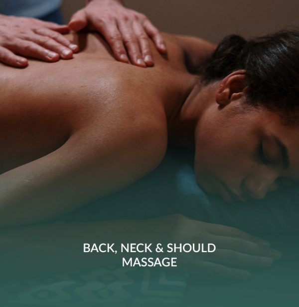 back, neck & should massage